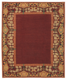 RugStudio presents Tufenkian Kotana Inverness Border Tamarind Area Rug