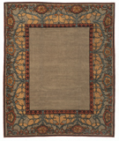 RugStudio presents Tufenkian Kotana Inverness Border Truffle Area Rug