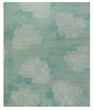 RugStudio presents Tufenkian Shakti Lux Rose Aqua Area Rug