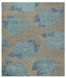 RugStudio presents Tufenkian Shakti Lux Rose Taupe Blue Area Rug