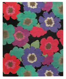 RugStudio presents Tufenkian Timpa Posies Black Area Rug
