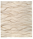 RugStudio presents Tufenkian Shakti Ripple Gold Coast Area Rug