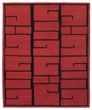 RugStudio presents Tufenkian Lama Shanghai Red Lacquer Area Rug