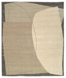 RugStudio presents Tufenkian Lama Stones Wintermoon Area Rug