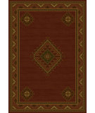 RugStudio presents United Weavers Genesis Laramie 52834 Burgundy Machine Woven, Good Quality Area Rug