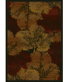 RugStudio presents United Weavers Genesis Fall Canvas 53834 Burgundy Machine Woven, Good Quality Area Rug