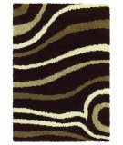 RugStudio presents United Weavers Aurora Gatsby 00151 Chocolate Area Rug