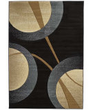 RugStudio presents United Weavers Contours Zaga 22066 Smoke Blue Machine Woven, Good Quality Area Rug