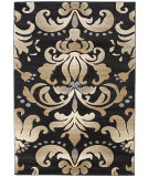 RugStudio presents United Weavers Contours Lotus 24066 Smoke Blue Machine Woven, Good Quality Area Rug