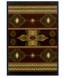 RugStudio presents United Weavers Contours - Cem Native Canvas 25259 Toffee Machine Woven, Good Quality Area Rug